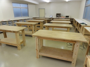 woodworking room